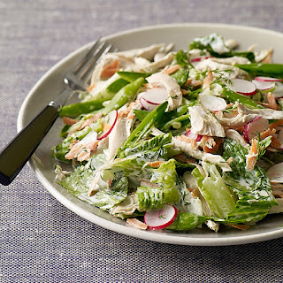 Spring Chicken Salad with Creamy Dill Dressing.