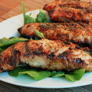 Grilled Turkey Tenderloins With Pepper Jelly Marinade