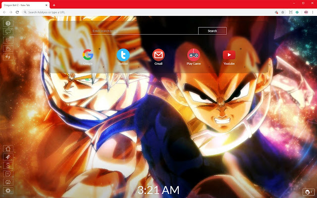 Dragon Ball Z Full Hd Wallpapers And New Tab