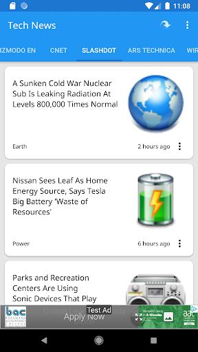 Tech News 1.9.1 Screenshots 2