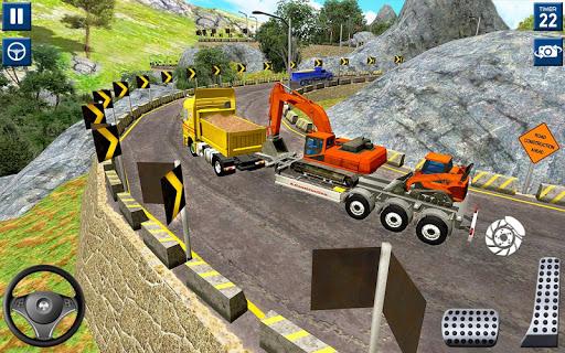 Code Triche lourd excavatrice simulateur 2020: 3d excavatrice APK MOD screenshots 1