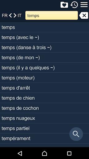 French Italian Dictionary