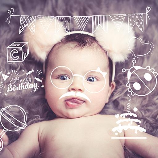 Baby Story - Pregnancy & Baby Milestones Photos Icon