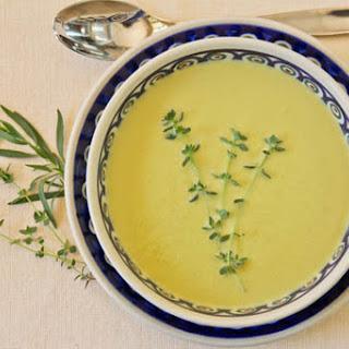 Asparagus Garlic Soup