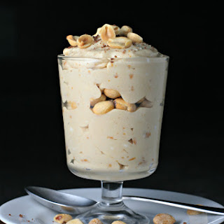Mini Salted Peanut Butter Parfaits.