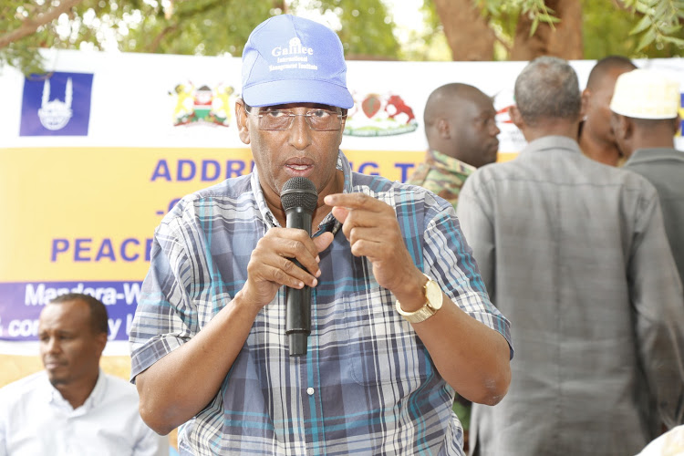 Mandera communities pledge unity against criminals