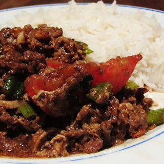 Beef and Egg stir Fry.