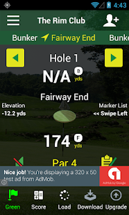 Free Golf GPS APP - FreeCaddie- screenshot thumbnail