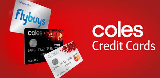 coles mastercard login