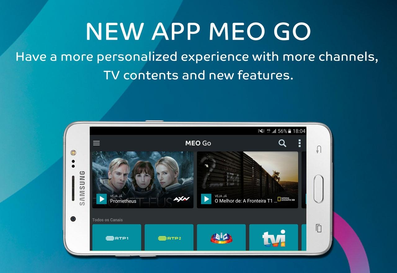 MEO Go- screenshot