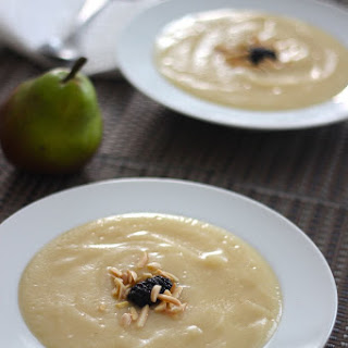 Chilled Pear Ginger Soup