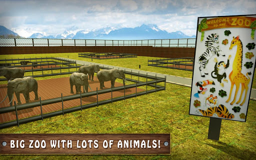 Wild Horse Zoo Transport Truck Simulator Game 2018  screenshots 9