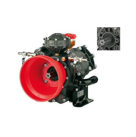 KOLVMEMBRANPUMP AR1203AP C/C 50 BAR; 115,8 L/MIN/550 RPM;2XPTO