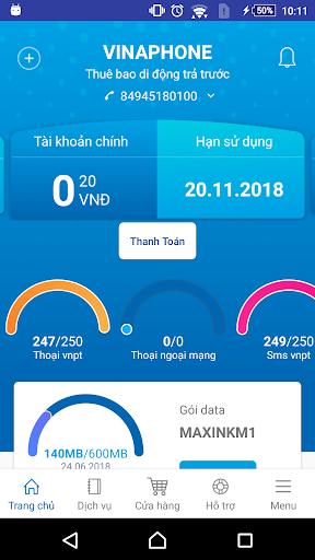 My VNPT screenshot