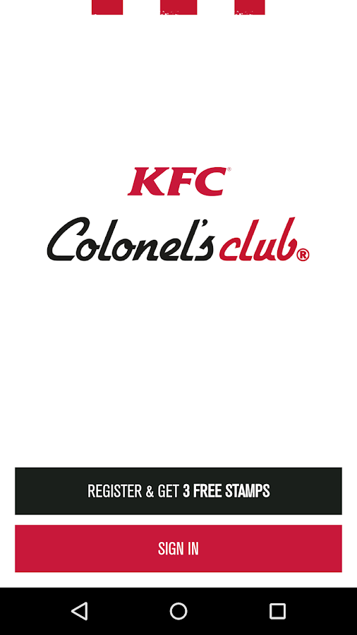 What could possibly be better than free chicken? Download and register on our app and you'll be able to get your hands on two free Hot Wings(R) as well as other free food and drinks, plus exclusive offers from KFC. The way our club works is simple, collect one stamp with every purchase over £3. We'll even get you started with three free stamps when you register on our app, enough for two /5(K).