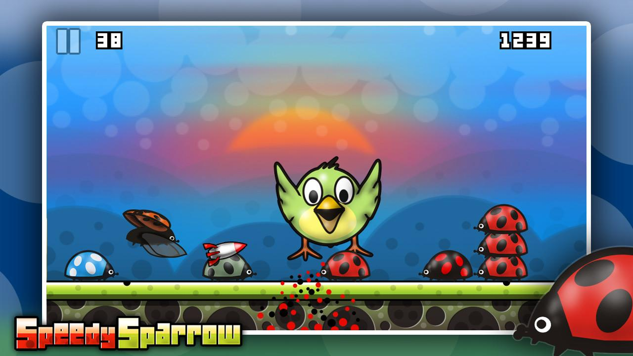 Speedy Sparrow - free game- screenshot