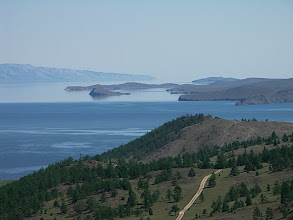 Photo: The view of Olkhon island and Small Sea
