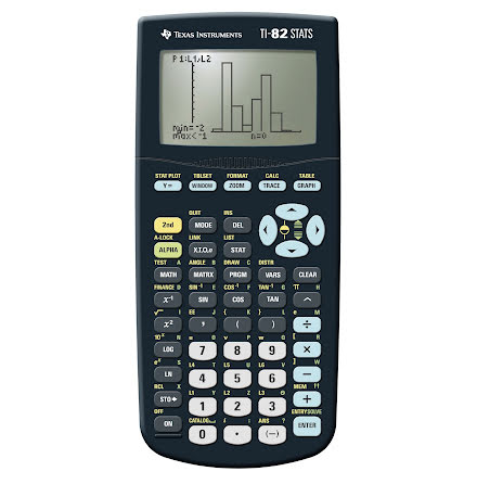 Räknare Texas TI-82 STATS