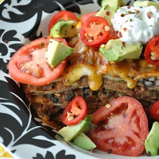 Mexican Pizza Lasagna Remix.