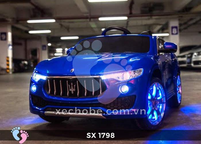 Xe hơi điện cho bé Maserati SX-1798 10