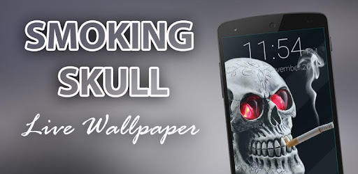 About this app. On this page you can download Smoking Skull Live Wallpaper ...