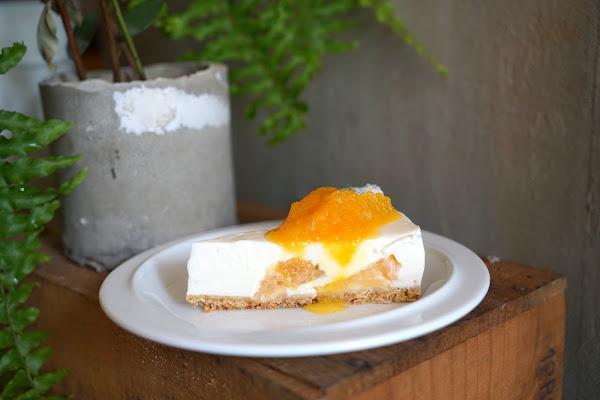 科技大樓站美味甜點 Guoguo 果果 #超抹千層蛋糕 #少女系柑橘生乳酪