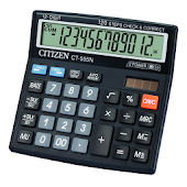 Citizen Calculator - Citizen CT-555N Emulator