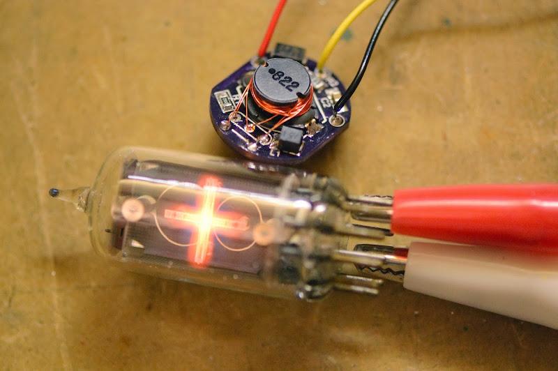 Photo: Miniature Nixie Power Supply