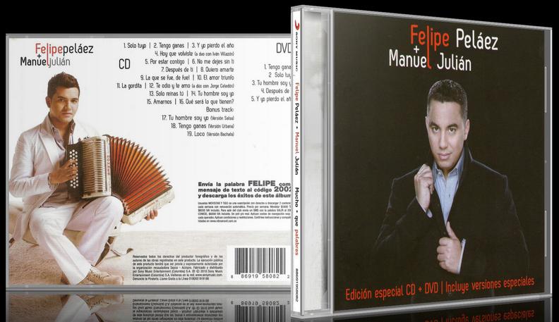 Felipe 'Pipe' Peláez & Manuel Julián - Mucho + Que Palabras (2012) [MP3 @320 Kbps]