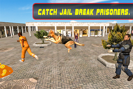 Police Dog Crime Chase screenshot