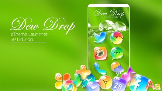 Dewdrop - eTheme Launcher screenshot 0