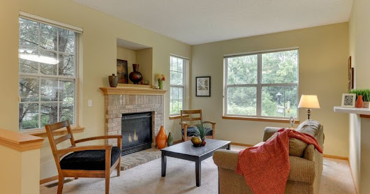 Vacant Home Staging (using some items from seller) - Maple Grove, MN - August 2017