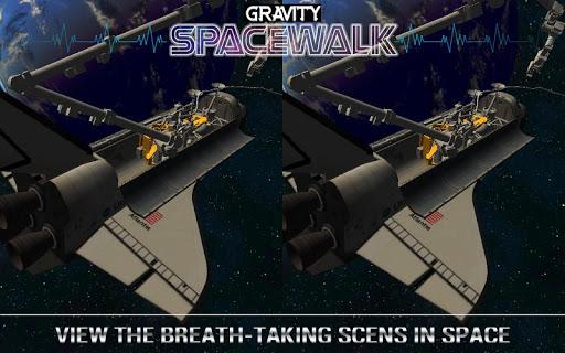 重力太空漫步虚拟现实