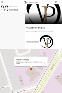Victory In Praise Church- screenshot thumbnail