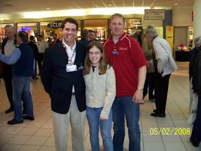 Photo: Steve and Jenna Jackson with Kevin