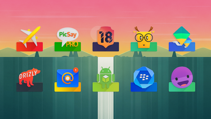 ELEV8 Icon Pack Screenshot Image