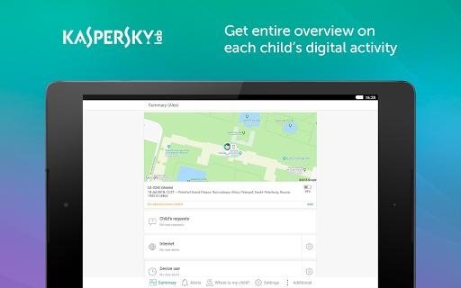 Parental Control & Kids GPS: Kaspersky SafeKids screenshot 5
