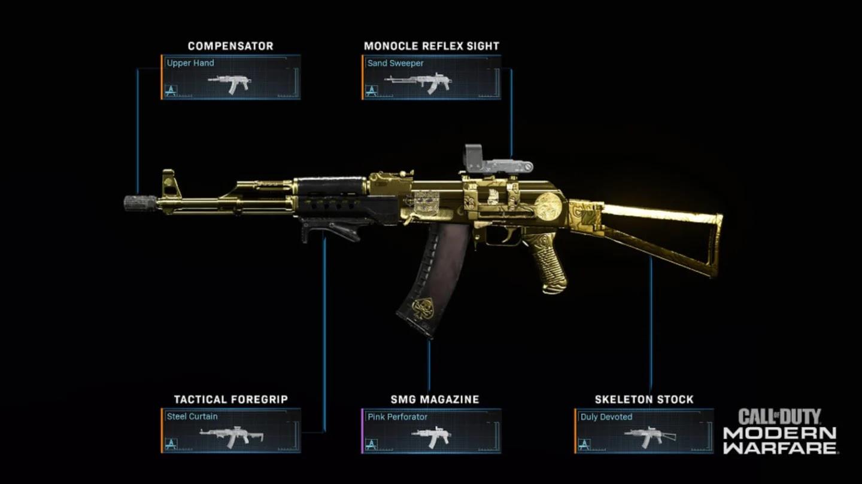 Gunsmith Customs Modern Warfare