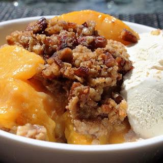 Easy Popular Peach Crumble.