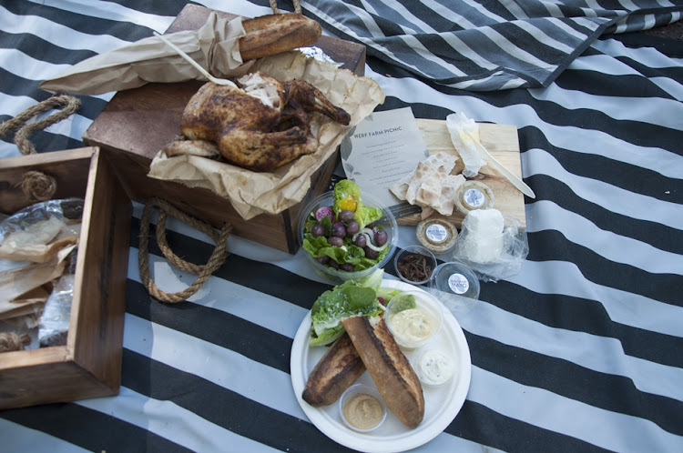 Feast on artisanal goodies at Boschendal.