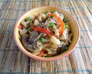 Crock Pot - Spicy Cajun Chicken Pasta