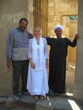 Photo: Inaara und die Tempelwächter von Karnak