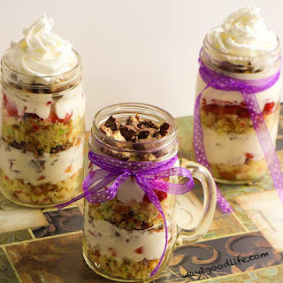 Party Cake in The Jar