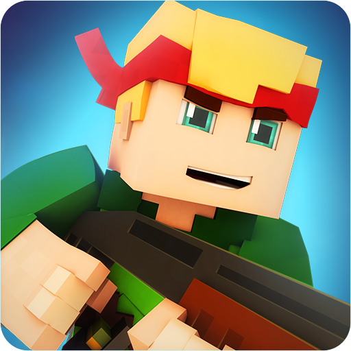 Block Shooting 3D: Zombie Wars Online (Survival) Icon