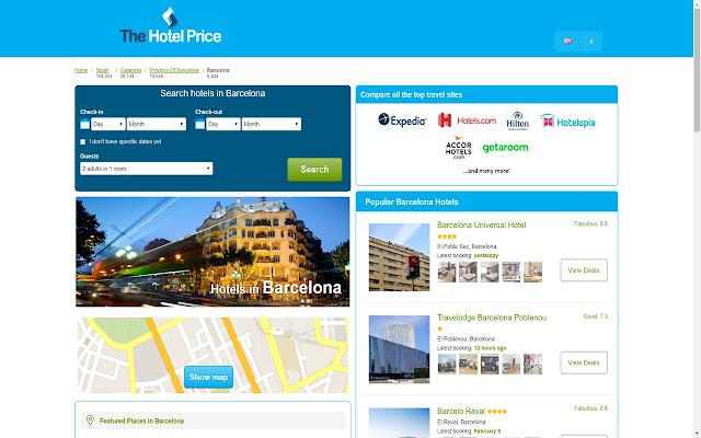 Best Hotel Deals in Barcelona - Hotel Finder