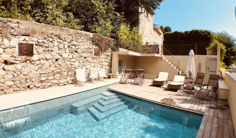 Maison avec piscine Vezenobres