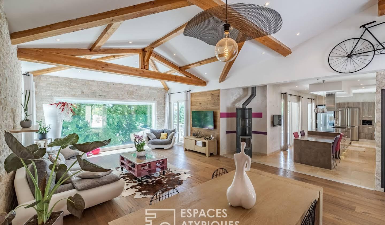 Maison avec piscine et terrasse Châteauneuf-Villevieille