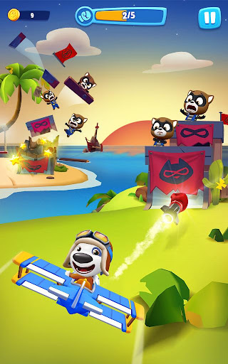 Talking Tom Sky Run: The Fun New Flying Game apktram screenshots 18
