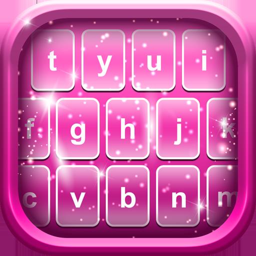 Pink Emoji Keyboard Changer