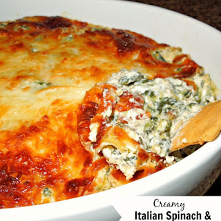 Creamy Italian Spinach And Artichoke Dip